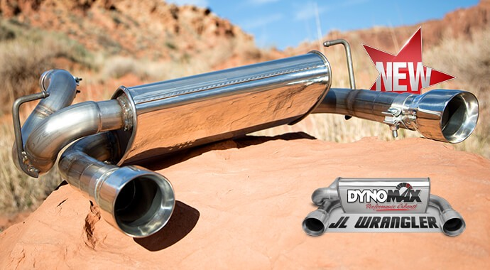 Dual 25 Axleback System Super Turbo™ Muffler 39536: Jeep Tj Dynomax Exhaust At Woreks.co