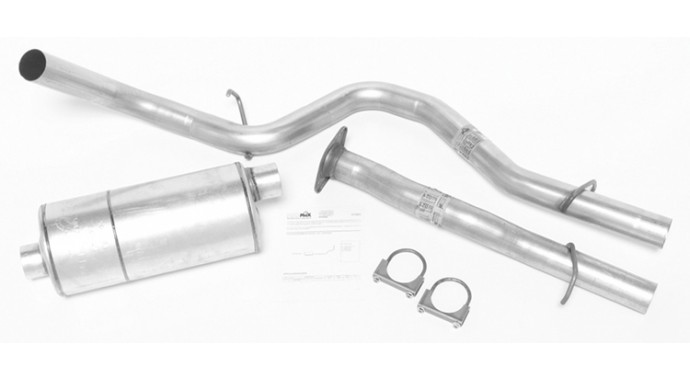 "Single - 3"" Cat-Back System - Super Turbo™ Muffler"