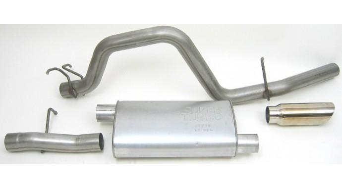"Single - 3"" Cat-Back System - Super Turbo™ Muffler"