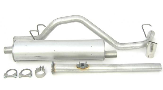 "Single - 2.25"" Cat-Back System - Super Turbo™ Muffler"