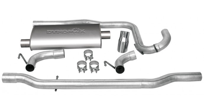 "Single - 2.25"" Cat-Back System - Ultra Flo™ Welded Muffler"
