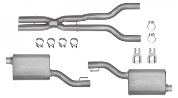"Dual - 3"" Cat-Back System - Ultra Flo™ Welded Mufflers - 39534"
