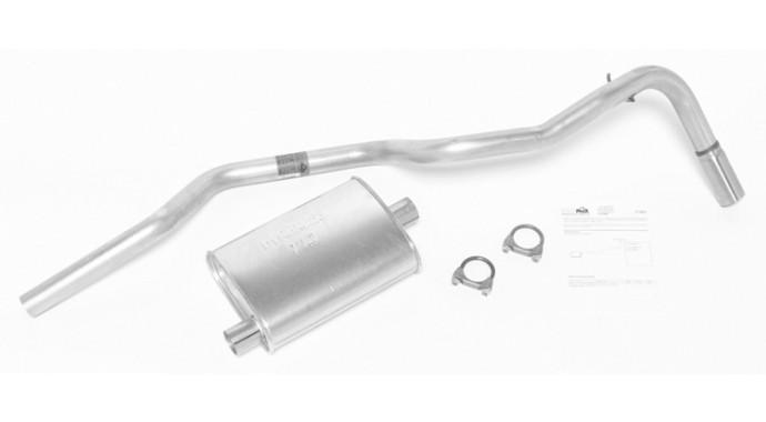 "Single - 2"" Muffler-Back System - Super Turbo™ Muffler"