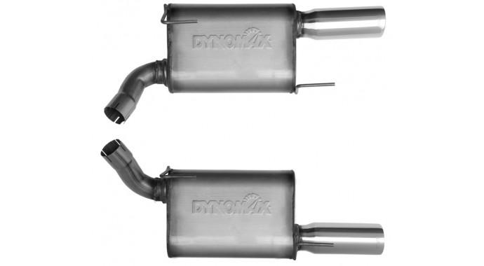 "Dual - 2.5"" Axle-Back System - Ultra Flo™ Welded Mufflers"