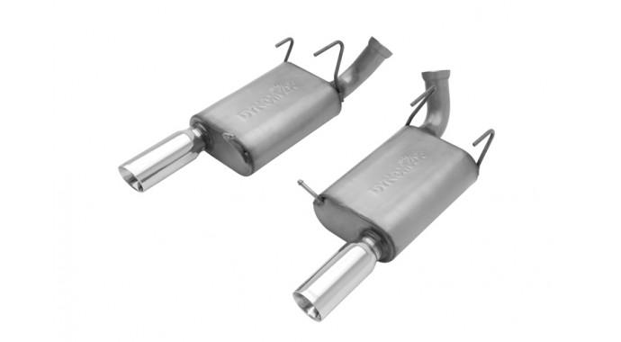 "Dual - 3"" Axle-Back System - Ultra Flo™ Welded Mufflers"