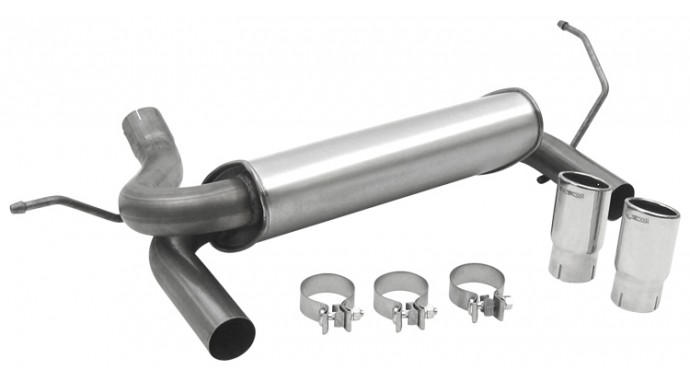 "Dual - 2.5"" Axle-Back System - Super Turbo™ Muffler"