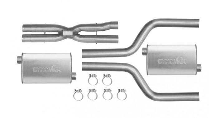 "Dual - 2.5"" Cat-Back System - Super Turbo™ Mufflers"