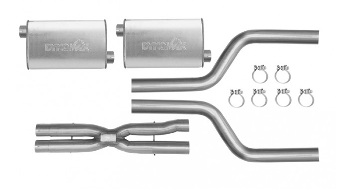 "Dual - 2.5"" Cat-Back System - Super Turbo™ Mufflers"