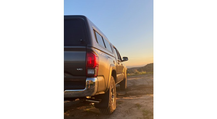 DynoMax® SINGLE - 2.5-in. CAT-BACK SYSTEM - ULTRA FLO™ WELDED MUFFLER for the Toyota Tacoma Access / Double Cab 3.5L, 2/4WD