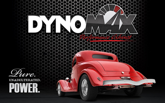 Dynomax Performance Exhaust: Red Hotrod
